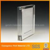 Cornice acrilica del magnete/blocco per grafici acrilico foto della plastica PMMA