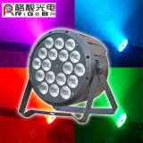New PAR64 18LEDs*10W RGBW 4 in 1 DMX Control Training course Light LED clouded BY