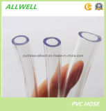 Le PVC souple en plastique transparent flexible au niveau de l'eau flexible de tube