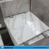 De witte Marmeren Tegel van de Vloer voor Bevloering en Muur