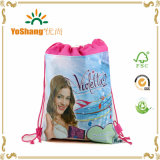 Fábrica Price Custom Printed Logo Drawstring Dust Bag para Handbag Wholesale
