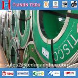 AISI 304 2b Lamelle en acier inoxydable