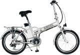 A dobragem de bicicletas eléctricas e dobrável e scooters e bicicletas de aluguer de bateria de lítio e motor de 250 W 8 diversão