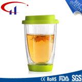 Copo elevado do Borosilicate do melhor Sell para o chá (CHT8616)