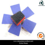 Кремний-Carbide Diamond Abrasive Brush Франкфурт с Velcro Back