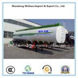 depósitos de gasolina 70000L, petrolero del combustible, acoplado del tanque de petróleo de la fabricación