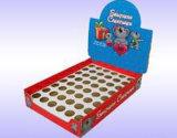 Caja de presentación del cartón del embalaje del color del rectángulo de regalo del papel acanalado (D27)
