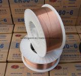 Sg2二酸化炭素MIGの銅の上塗を施してある溶接ワイヤ