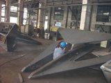 Ancoraggio d'attracco marino di Stockless Gruson dell'acciaio di getto Ge300