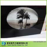 Vidrio de cristal de la puerta del horno del vidrio Tempered de la impresión de cristal decorativa de la pantalla de seda