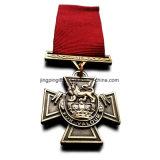 Militärmedaillen-Gruppen-gesetztes Victoria-Kreuz der medaillen-3X, Militärkreuz u. George-quere britische Militärmedaillen