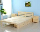 純木はからかうベッドのダブル・ベッドのシングル・ベッド(M-X1101)を