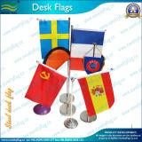 Hot vendre Desk drapeau avec perche en acier (B-NF09M03018)