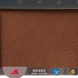 Fabricado na China a impressão de PVC sintético de couro de exportação para o saco de couro feitos em GUANGZHOU