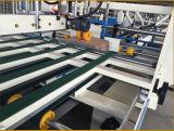 Pliage de cartons ondulé de carton de papier et collage de la machine à emballer