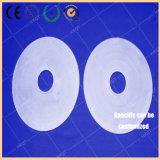 Anello lucidato parete spessa rotonda a temperatura elevata di vetro di silicone fuso