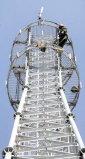 Torre Telecom de acero durable de la manera