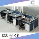 Stazione di lavoro diritta dell'ufficio della mobilia di alta qualità