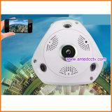 Камера IP WiFi Fisheye с функцией записи к карточке TF для домашней обеспеченности