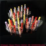 Sostenedor de acrílico del lápiz de la alta calidad, sostenedor de la pluma