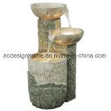 Caldo vendendo la maggior parte della fontana di acqua esterna di Polystone del migliore di prezzi giardino orientale elegante popolare di stile con l'indicatore luminoso del LED