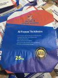 saco tejido impreso Bags/BOPP del producto químico de la válvula del papel de Kraft de la parte inferior del bloque 50kg