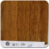 Yingcai 1m Largeur Jaune Straight Wood Pattern Wtp Film