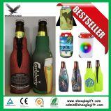 習慣によって印刷される熱い販売のネオプレンビール飲料のワイン・ボトルのホールダー