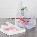 Хозяйственная сумка мешка тенниски пластмассы Thankyou