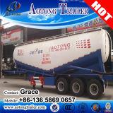 Semi-reboque de tanque de cimento em massa de 50cbm, reboque de cimento em massa, petroleiro de cimento em massa, transportadores de granéis de cimento, caminhão de transporte de cimento em massa