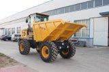 Máquinas de transporte 4WD 7ton Hydraulic Site Dumper