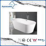 Badezimmer-ovale freistehende Acrylbadewanne (AB1509W)