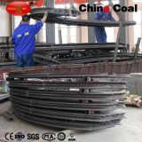 Kundenspezifischer u-Typ Stahlbögen für Grube Laneway Sekundärsupport
