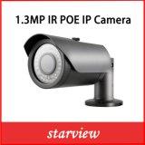 1.3MP cámara de red del punto negro de la seguridad del CCTV del IP Poe IR