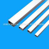 304 soldó el tubo rectangular del acero inoxidable para la tapicería