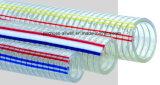 Boyau de l'eau d'irrigation de Netiing Industrail de boucle de spirale de fil d'acier de PVC