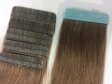 毛テープ拡張即刻の毛もつれ100%の人間の毛髪無し