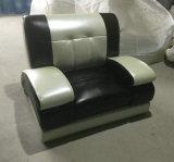 Sofa moderne de cuir de salle de séjour (829)
