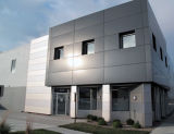 Gris profonde paroi externe de garantie de qualité Panel-Aludong composites en aluminium