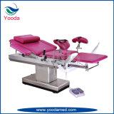Het hydraulische Obstetrische Bed van het Onderzoek van de Bevalling en van de Gynaecologie