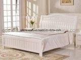 固体木のベッドの現代ダブル・ベッド(M-X2272)