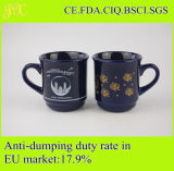 Suministro de la fábrica de gres cerámica taza de café de la Copa de Promoción