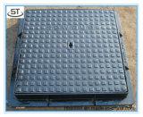 Design diferente ferro fundido dúctil tampa de esgoto Quadrados