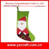 Étalage de mémoire de bas de cerfs communs de Noël de la décoration de Noël (ZY14Y629 20 '')