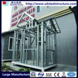 Protezione portatile Watchouse della struttura d'acciaio e rete fissa