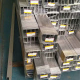 Aluminio Rectangular Pipe 6061, 6063, 6082