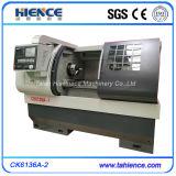Máquina multiusos Ck6136A del torno del corte del CNC de la base plana de la combinación del mejor surtidor