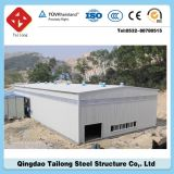 Pre Engineering Fire Proof Ciment Sandwich Panel Steel Building