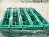 Garde-corps en tube d'acier carré à revêtement en poudre pour l'utilisation du jardin