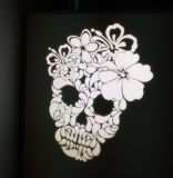Heller LED Firmenzeichen-Projektor 2017 des Gobo-für im Freienwand-Reklameanzeige
